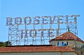 Famous Roosevelt Hotel In Holywood