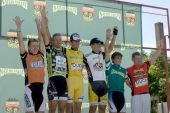 Men's Winners Podium At Nature Valley Grand Prix