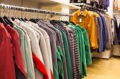 Men Clothing In Fashion Store