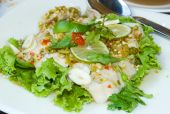Spicy Thai Fish And Lime Salad poster