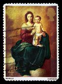 Madonna And Child, By Bartolome Esteban Murillo