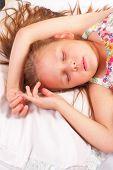 Pretty Little Girl Sleeping