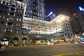 Hong Kong Famous Luxury Hotel Peninsula By Night