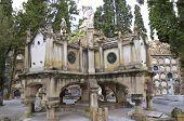 Cemetery Barcelona Montjuic