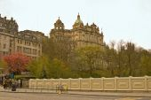 Edinburgh From Waverly Bridge