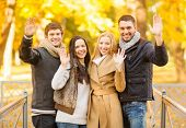 stock photo of waving hands  - summer - JPG