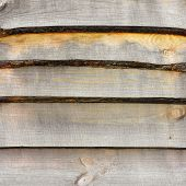 Detailed Close Surface Flooring Pine Boards. A Large Image Texture For Background Or Overlay.