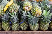 Pineapples In Foodstore