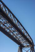 Avellaneda Bridge In Buenos Aires, Argentina.
