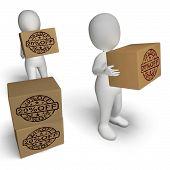 Twenty Percent Off Boxes Show 20  Price Markdown