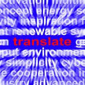 Translate Word Means Converting To Another Language