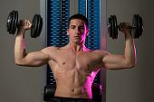 Exercise For Shoulders Dumbbell Presses