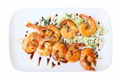 Shrimps Skewers