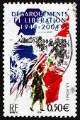 Postage Stamp France 2005 D-day Invasion Of France