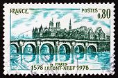 Postage Stamp France 1978 Pont Neuf, Paris