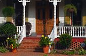 Image of a peaceful southern Home front porch