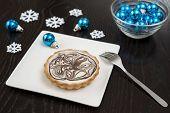 Festive White Chocolate Tart