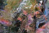 Interesting Figurative Original Oil Painting on Canvas