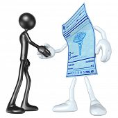 Medical Prescription Handshake