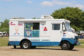 Ice cream truck in Brooklyn