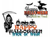 Eeerie Happy Halloween posters