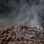 Roasted Coffee With Smoke