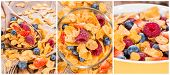 Cornflakes Collage