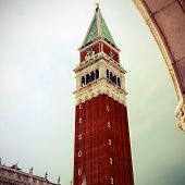 Campanile Of Saint Mark In Venice