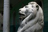 Lion Marble Statue