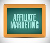 Affiliate Marketing Message Illustration Design