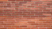 Seamless Red Brick Wall Background