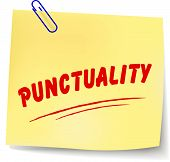 Punctuality Message