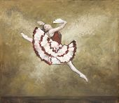 Oilpainting - Ballet Dancer