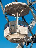 White Ferris Wheel Cabin