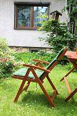Chair In Garden