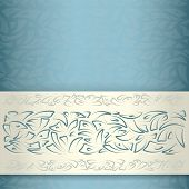 Ornamental pattern template