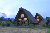 Japanese traditional house Shirakawa