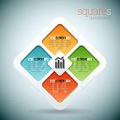 Squares Infographic