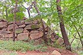 Remains Of Japanese Castle Jaseongdae (busanjin, 1592) In Busan, Korea