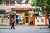 A Chinese temple in Dong Nai, southern Vietnam.