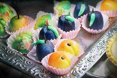 Marzipan Cakes