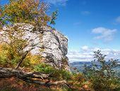 Autumn in the Swabian Alps