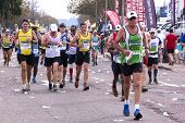 Long Distance Runners At Comrades Ultra Marathon