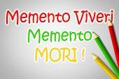 Memento Viveri Memento Mori Concept