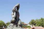 Massive Sculpture In Nice In France