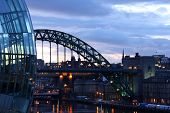 Tyne Bridge And Sage