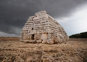 Naveta Des Tudons, Funerary Megalithic Monument.