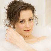Portrait In The Bath