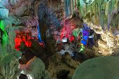 Cavern On Island, Ha_long Bay, Vietnam