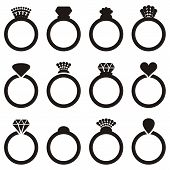 Wedding Ring Icons